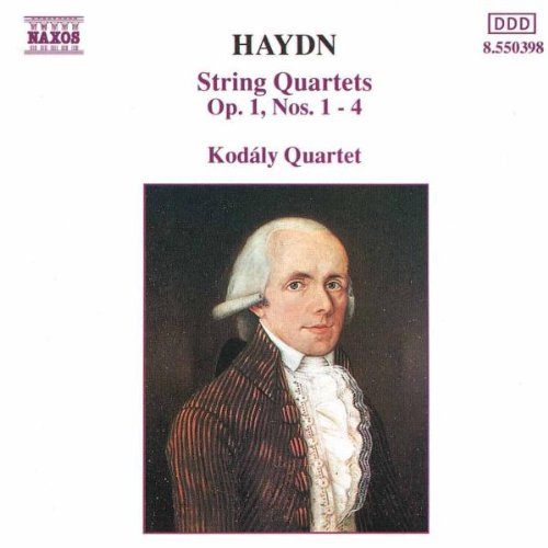 Kodaly-Quartett - Haydn Streichquartette Op. 1 1-4 Kodal
