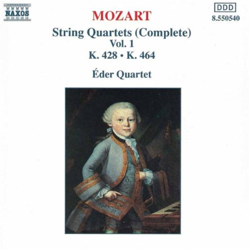 Eder-Quartett - Mozart Streichquartette Vol 1 Eder