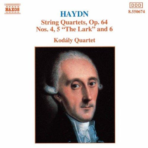 Kodaly-Quartett - Haydn Streichquartette Op. 64 4-6 Koda