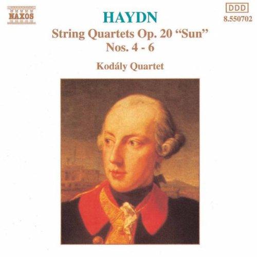 Kodaly-Quartett - Haydn Streichquartette Op. 20 4-6 Koda