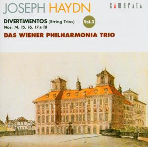 Wiener Philharmonia Trio - Divertimenti Vol.3
