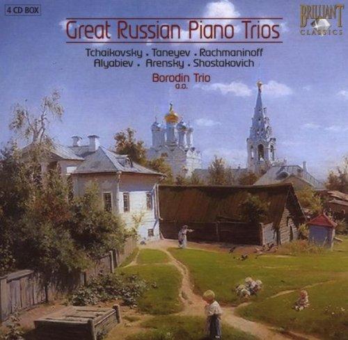 Borodin Trio - Borodin Trio: Great Russian Pian...