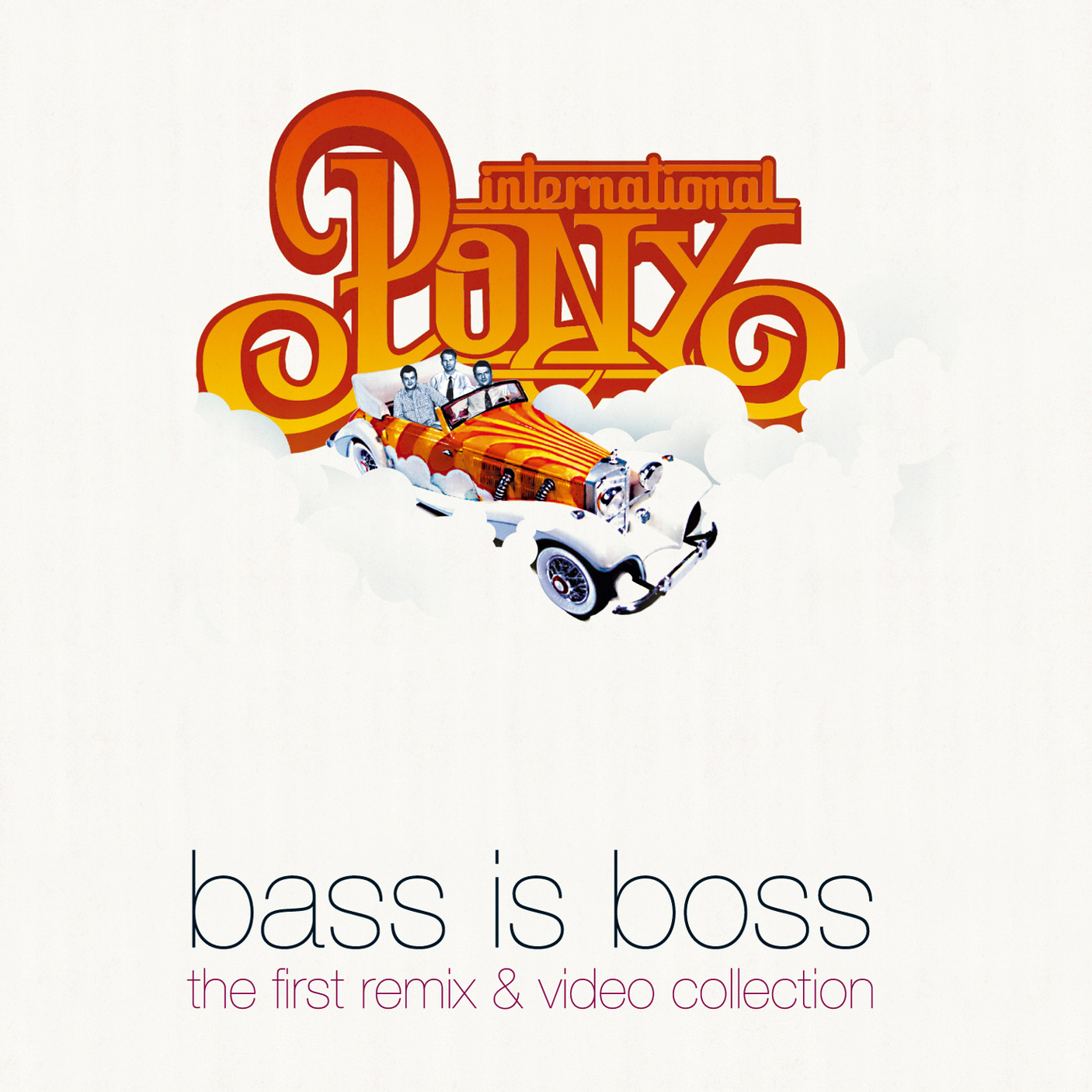 International Pony - Bass Is Boss (CD + Bonus DVD)
