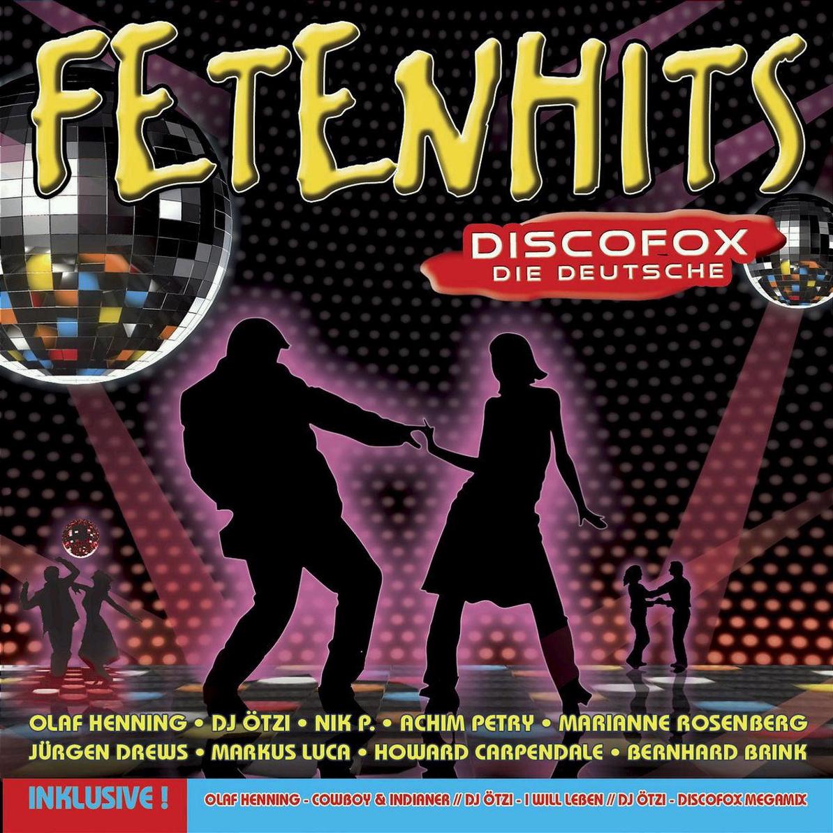 Various - Fetenhits Discofox-die Deutsche