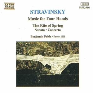 Benjamin Frith - Strawinsky Klavier Musik für 2...