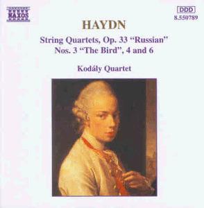 Kodaly-Quartett - Haydn Streichquartette Op. 33 3, 4 und 6 KO