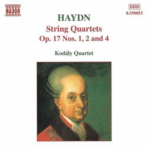 Kodaly Quartett - Streichquartette OP 17 1, 2 und 4