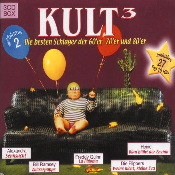 Various - Kult³: Vol. 2 - Die besten Schlager d...