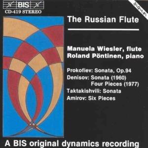 Manuela Wiesler - Russische Musik für Flöte