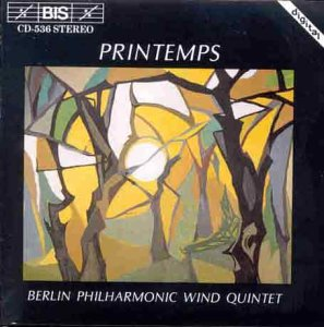 Phil.Bläserquintett Berlin - Printemps (Musik f...