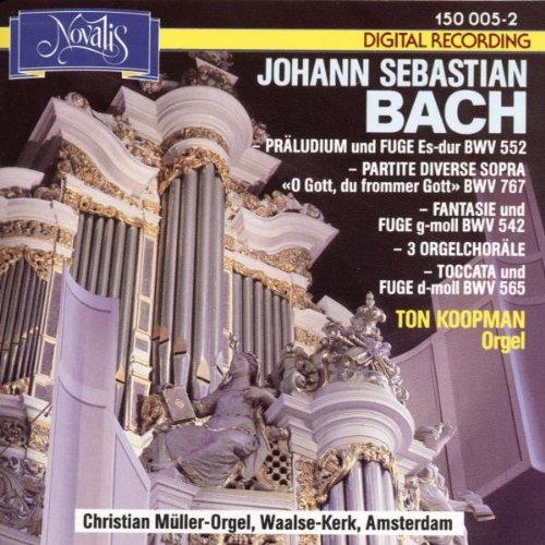 Ton Koopman - Johann Sebastian Bach - Orgelwerke - Vol. 1