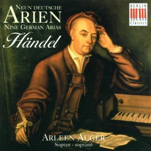 Arleen Augér - Händel - Neun Deutsche Arien