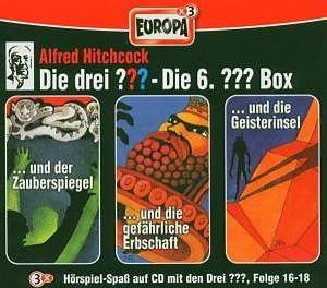 Die drei ???: Die 6. ??? Box - Folge 16-18 [3 CDs]