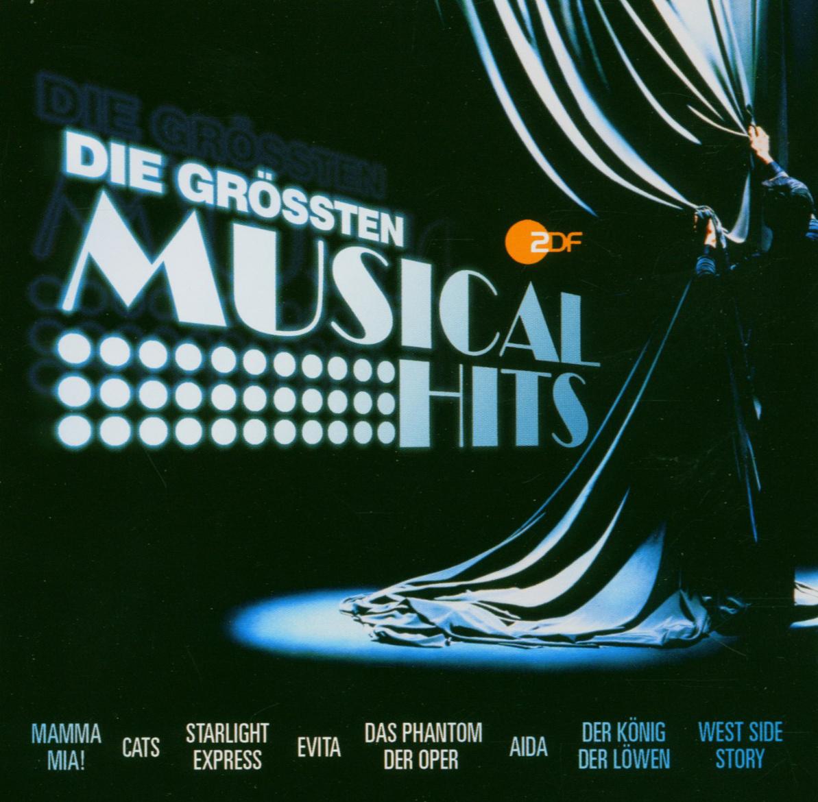 Various - Zdf-die Größten Musical Hits