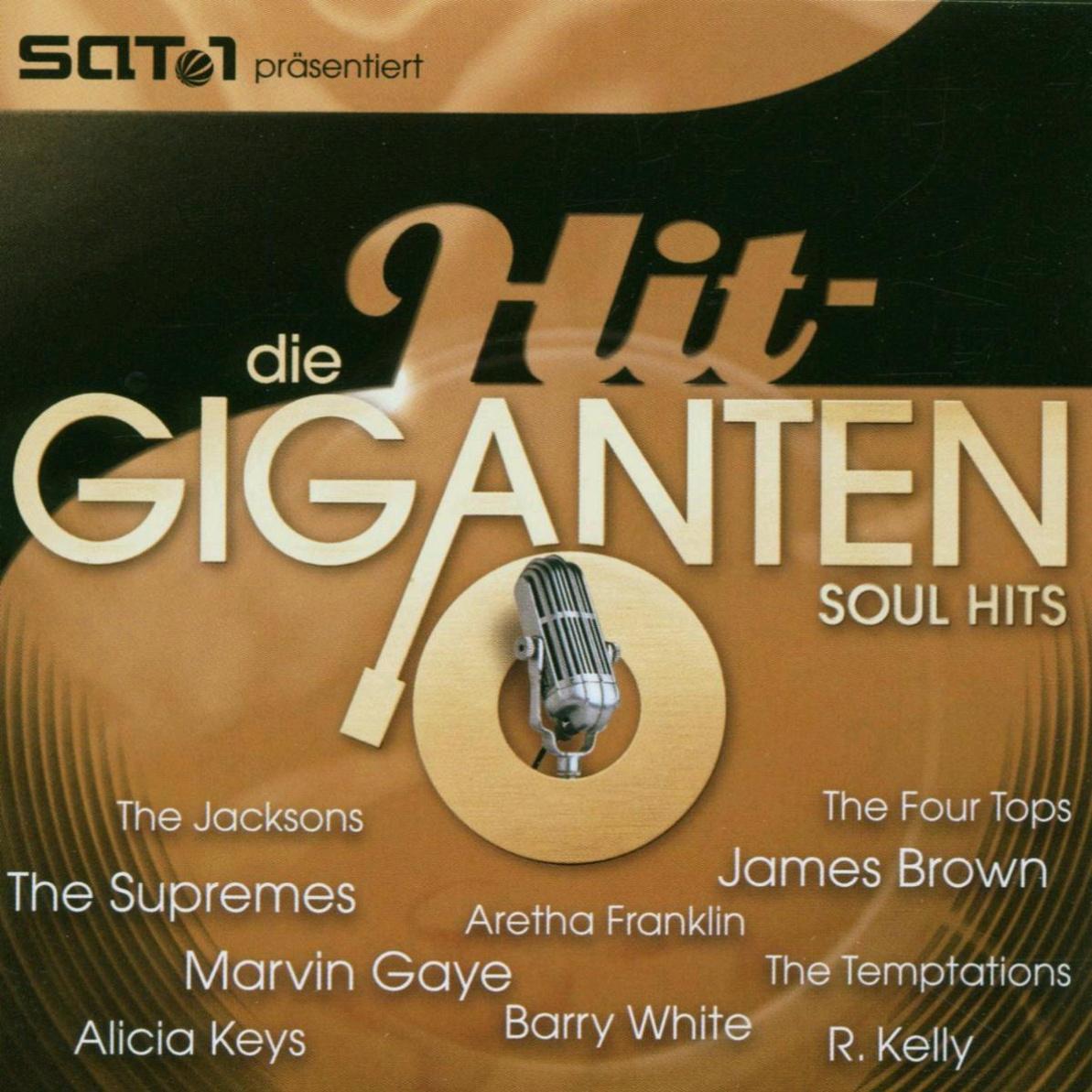 Various - Die Hit Giganten - Soul Hits
