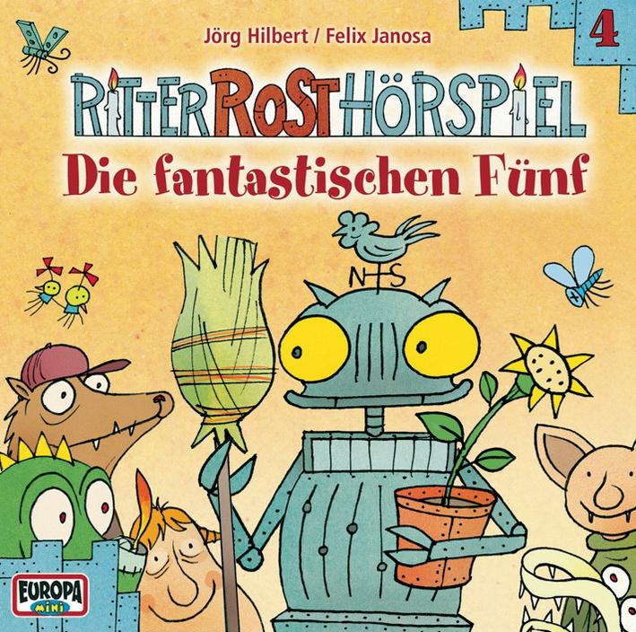 Ritter Rost - Folge 04/die Fantastischen Fünf