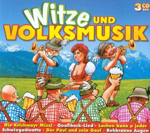 Various - Witze und Volksmusik