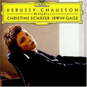 Christine Schäfer - Melodies (Lieder von Debuss...