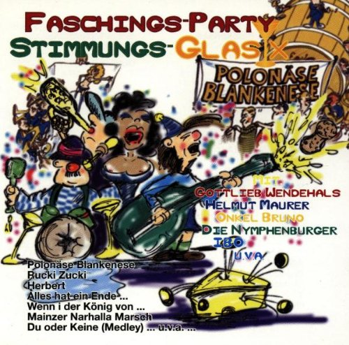Various - Faschings-Party,Stimmung Glas