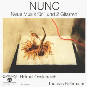 Nunc - Nunc (Neue Musik für 1 und 2 Gitarren)