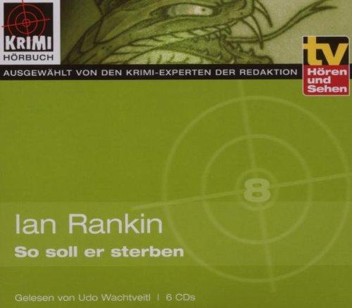 tv Hören und Sehen: So Soll Er Sterben - Udo Wachtveitl [6 CDs]