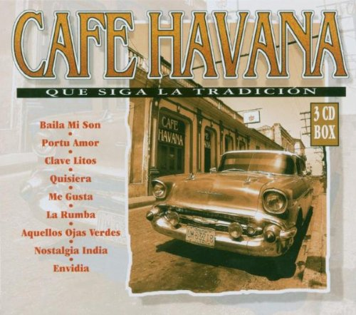 Various - Cafe Havana 3-CD