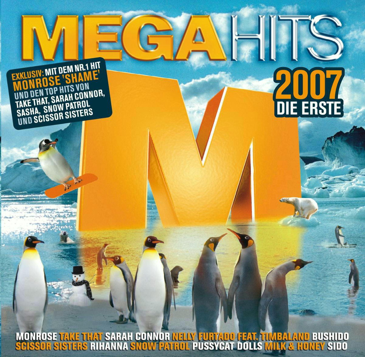 Various - Megahits 2007 - Die Erste