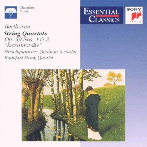 Budapester Streichquartett - Streichquartett 1 und 2 (Op. 59)