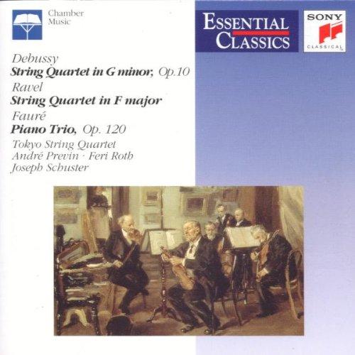 Tokyo String Quartet - Debussy, Ravel, Faure: S...