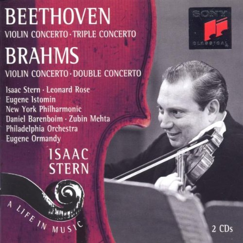 Isaac Stern - A Life In Music. Violinkonzerte B...