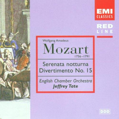Jeffrey Tate - Red Line - Mozart (Divertimenti)