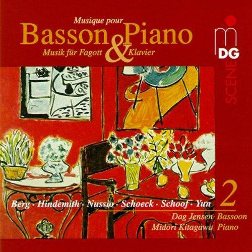 Dag Jensen - Musik für Fagott und Klavier Vol. 2