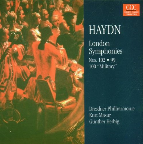 Kurt Masur - Londoner Sinfonien 102 / 99 / 100