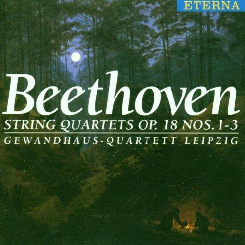Gewandhaus-Quartett Leipzig - Streichquartette Op. 18, 1-3