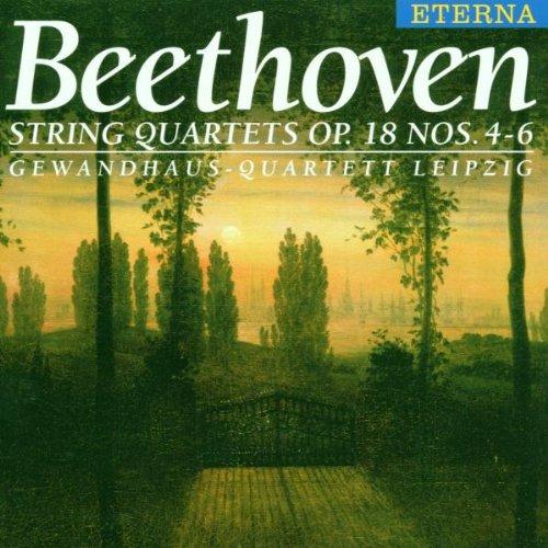 Gewandhaus-Quartett Leipzig - Streichquartette Op. 18, 4-6