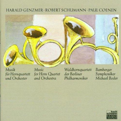 Waldhornquartett der Bp - Musik für Hornquartette