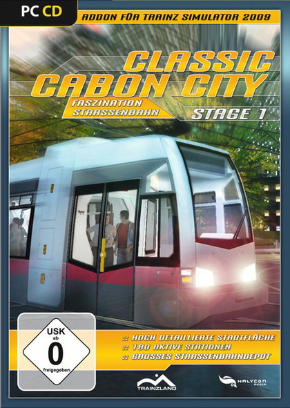 Classic Cabon City AddOn für Trainz 2009