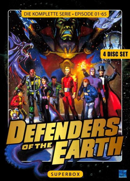 Defenders Of The Earth - Superbox