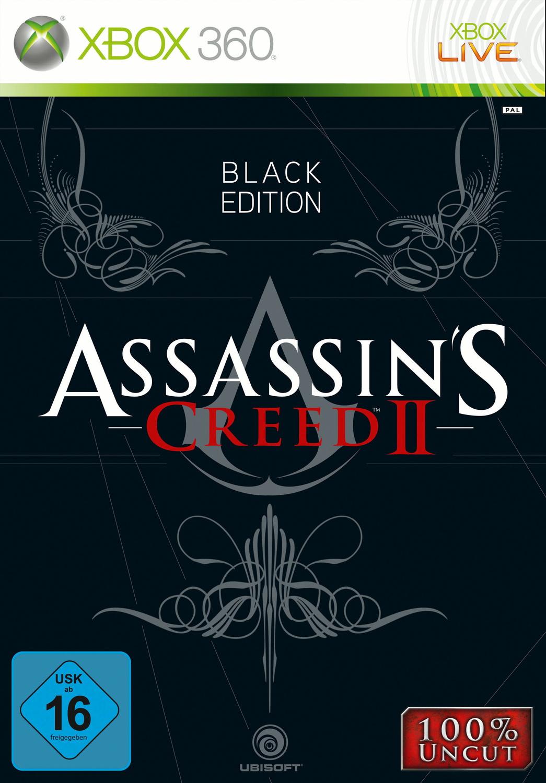 Assassin´s Creed II [Black Edition inkl. Figur, Bonus DVD, Buch]