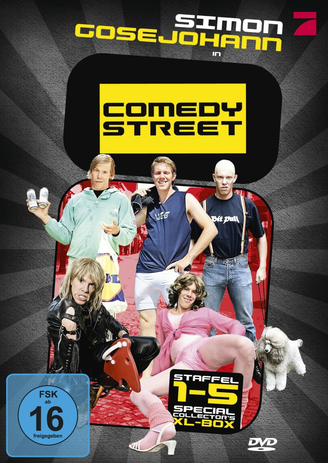 Comedy Street - Special Collector´s XL Box