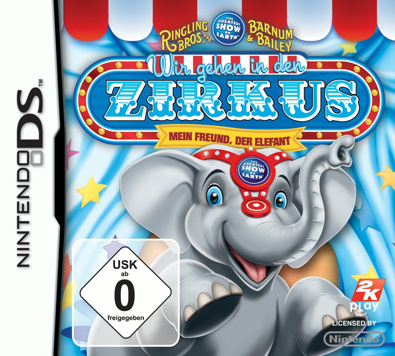 Wir gehen in den Zirkus Mein Freund, der Elefant