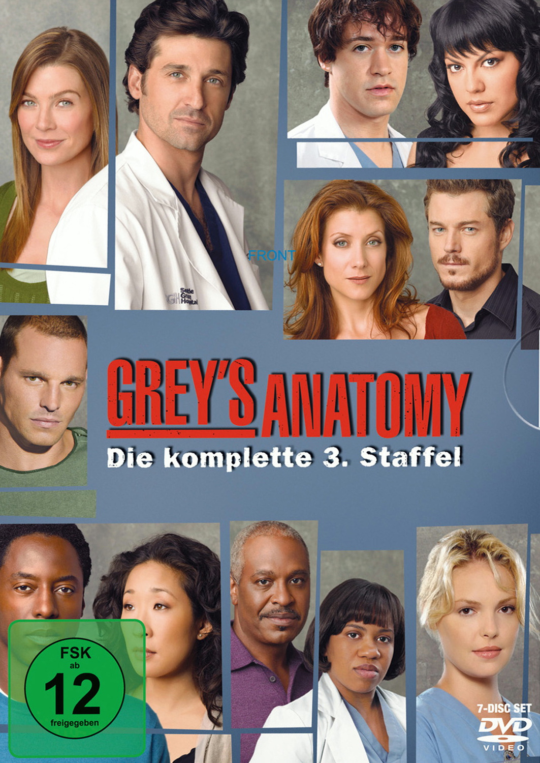 Grey´s Anatomy - Staffel 3 [7 DVDs]