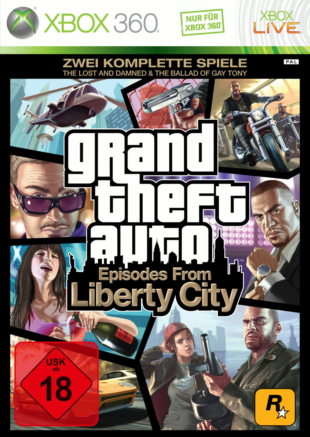 Grand Theft Auto: Episodes from Liberty City [T...