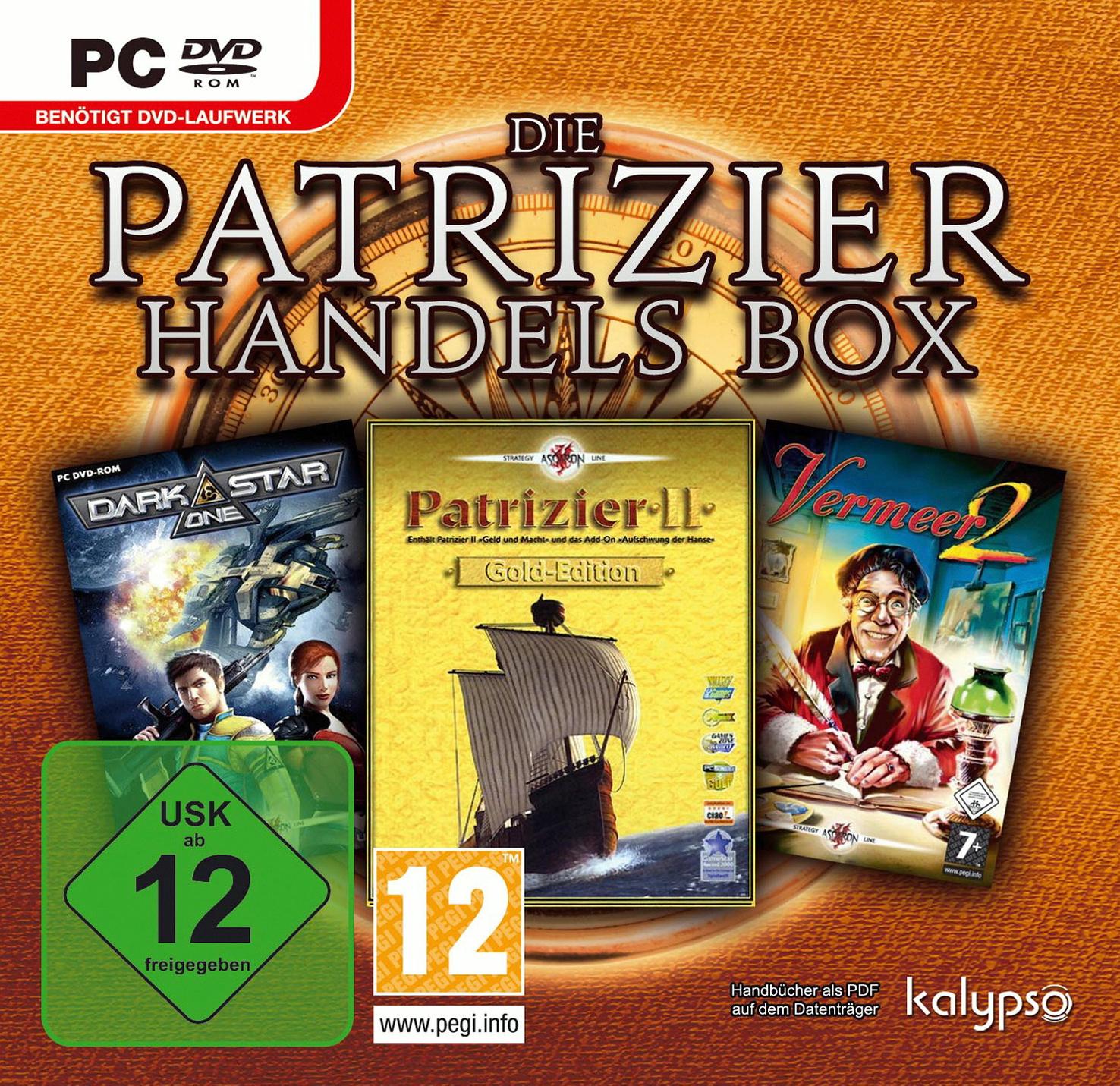 Die Patrizier & Händler Box (Patrizier 2 Gold /...