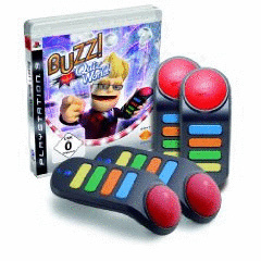 Buzz!: Quiz World inkl. Wireless-Buzz!-Buzzer