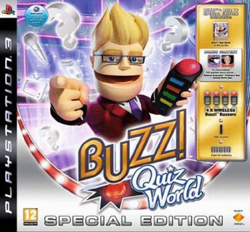 Buzz! Quiz World Special Edition Sammlerbox