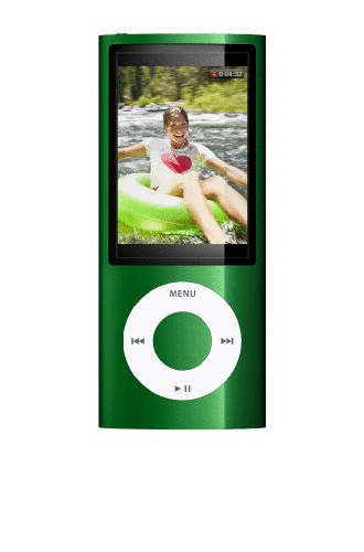 Vorschaubild von Apple iPod nano 5G 16GB mit Kamera grün