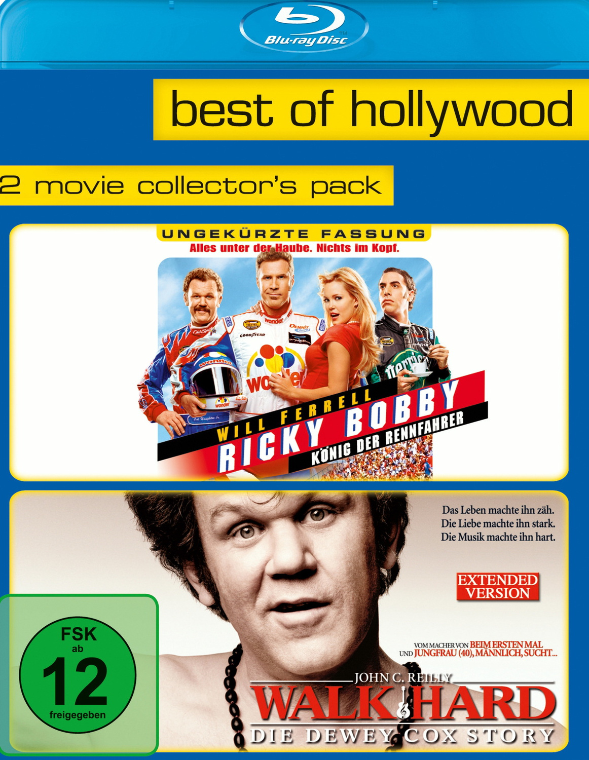 Best of Hollywood: 2 Movie Coll. 3 Ricky Bobby-König der Rennfahrer/Walk Hard-Dewey Cox Story