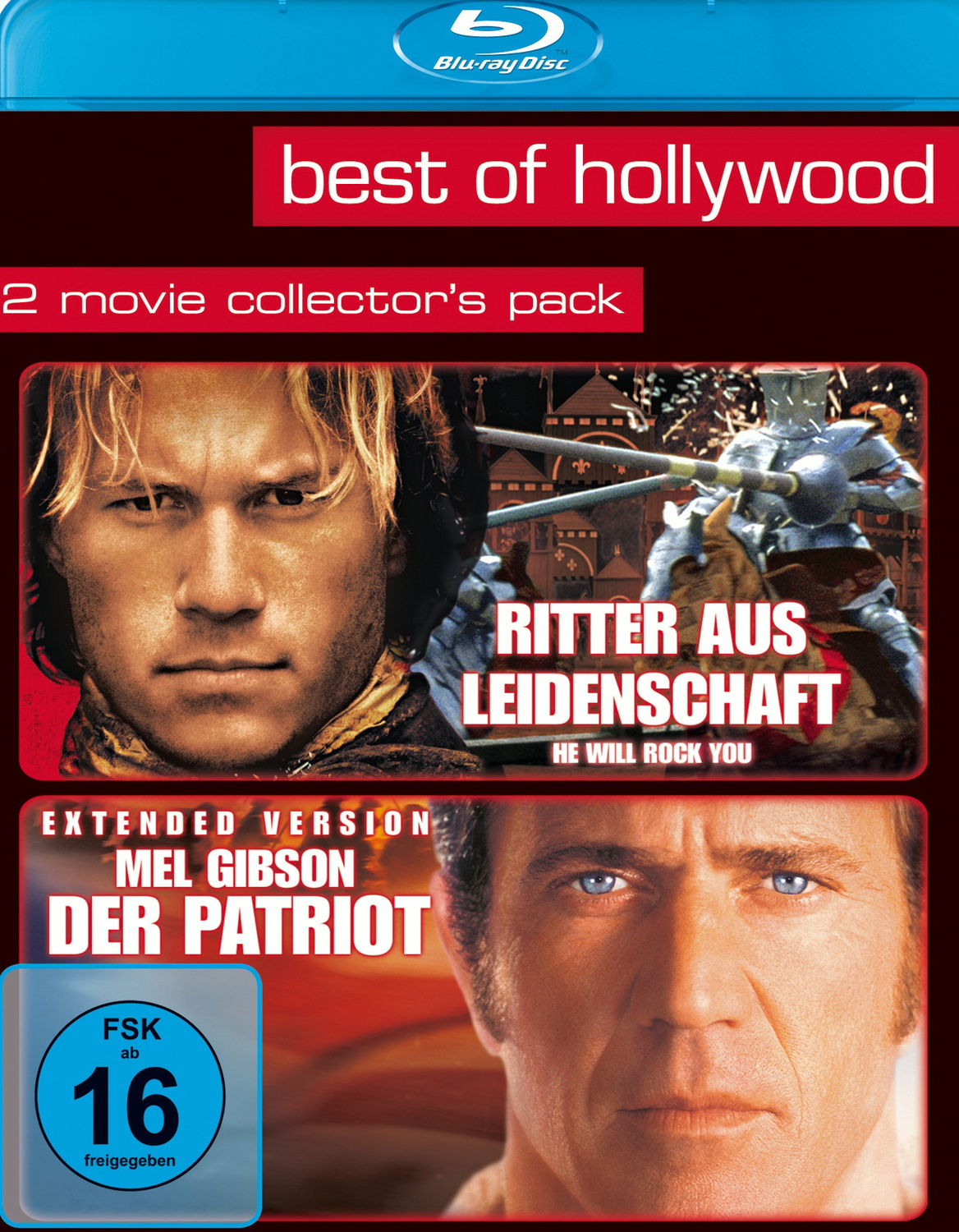 Best of Hollywood: 2 Movie Coll. 12 Ritter aus Leidenschaft/Mel Gibson-Der Patriot