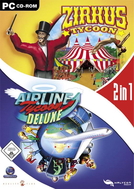 Airline Tycoon Deluxe / Zirkus Tycoon - Bundle